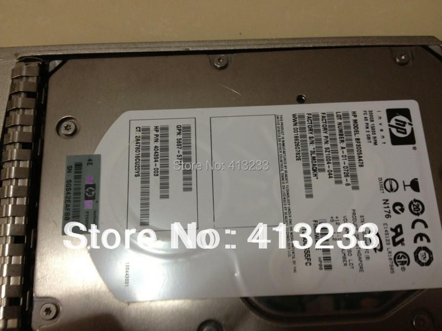 AG425A 416728-001 300ГБ 15к ФК новый жесткий диск три года гарантии