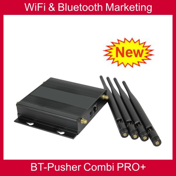 BT-Pusher wifi bluetooth mobiles marketing device COMBI PRO+ (ZERO COST advertising system anywhere anytime)(China (Mainland))