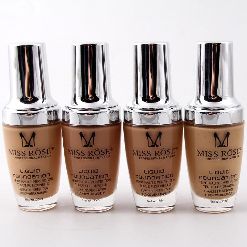 1 Pcs Makeup Liquid Facial Foundation Waterproof Oil-control Full Coverage Make Up Base ConCealer Moisturizer Foundation
