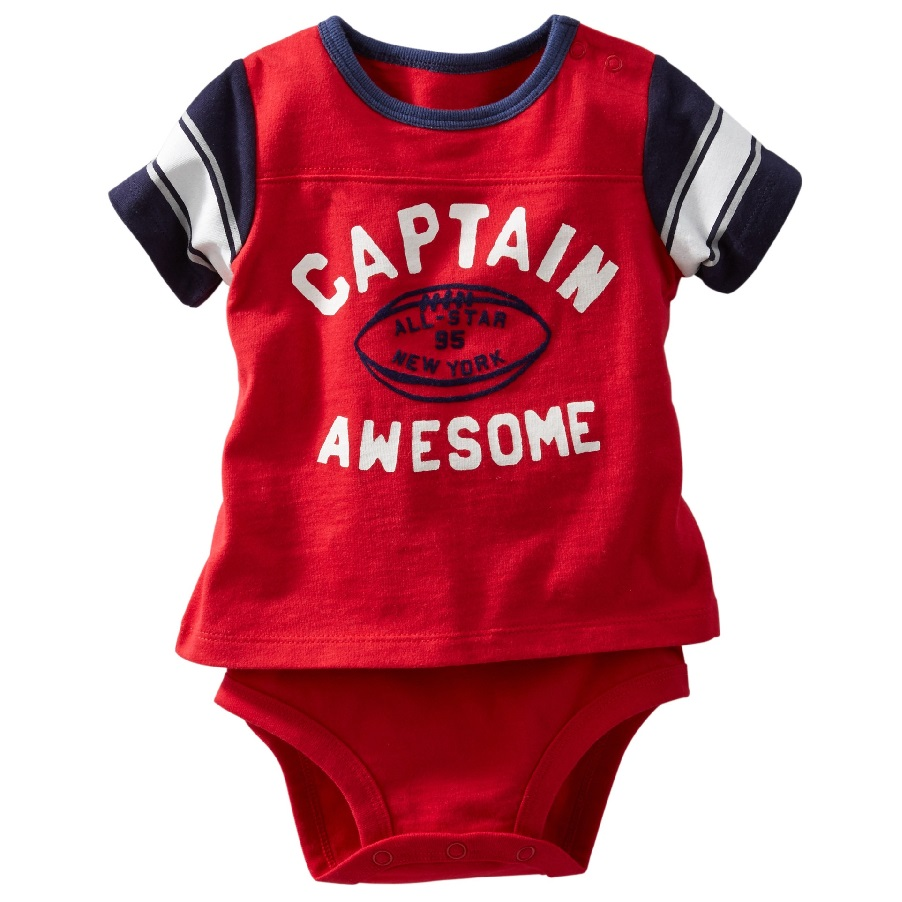 Captain Baby Bodysuits Rugby Awesome Newborn Clothes American Football Toddler Costumes Bebe One-Piece Jumpsuits(China (Mainland))