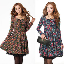 popular winter knit dress