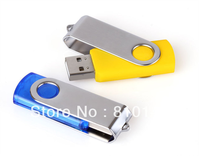 1PCS Swivel Usb Flash Drive 4GB 8GB 16GB 32GB 64GB 128GB Disk Memory Free shipping