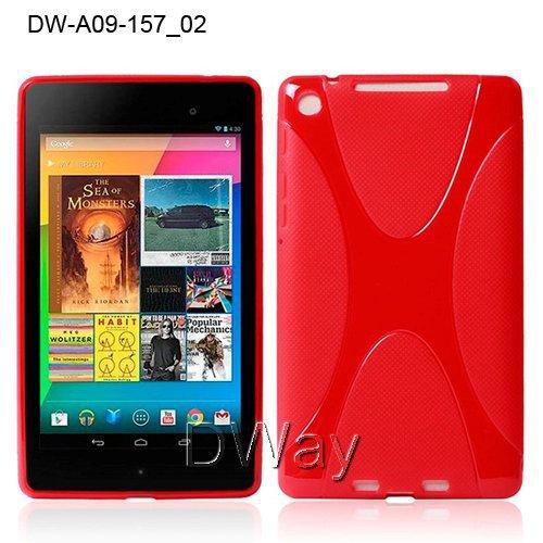 New Stylish Grip TPU X Line Gel Soft Back Cover Case For Google Nexus 7 2 II Generation Slim Case 10PCS/LOT Free Shipping<br><br>Aliexpress