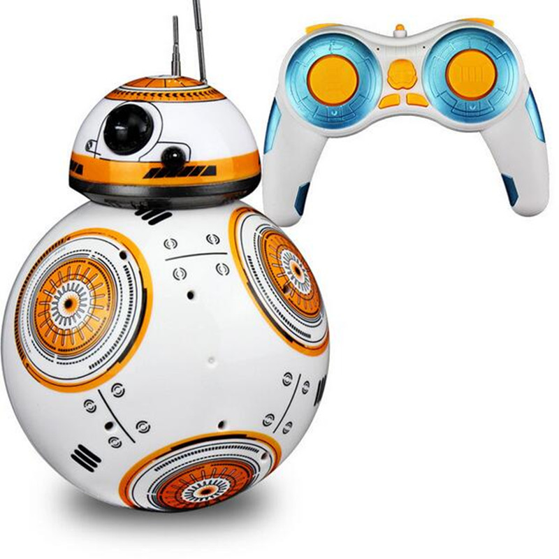 NEW Hot 15CM Star Wars The Force Awakens BB-8 Droid Robot Daruma Tumbler Action Figure Toys Christmas Gift TY148 Remote Control(China (Mainland))