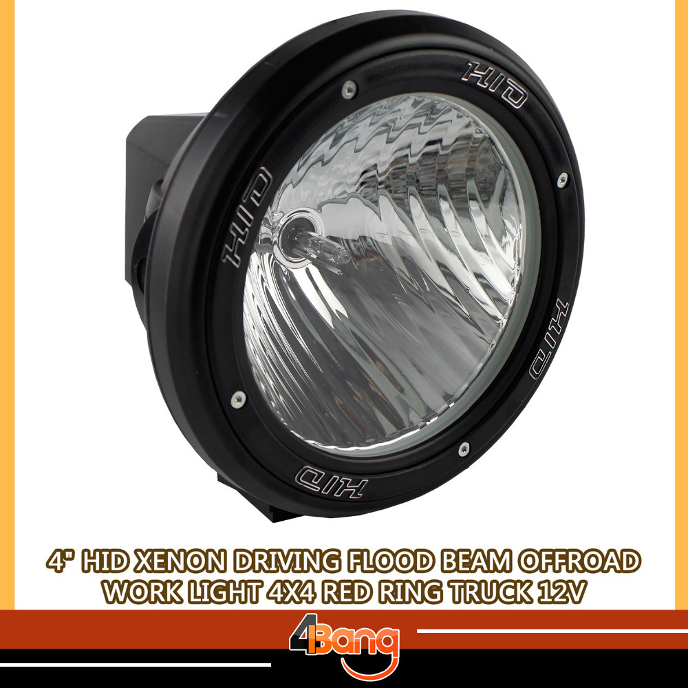 2 PCS 35W 4INCH HID Drive Light Motorcycle 4WD SPIRAL Offroad Fog light HID Work Light External Light SPIRAL for SUV Truck ATV(China (Mainland))