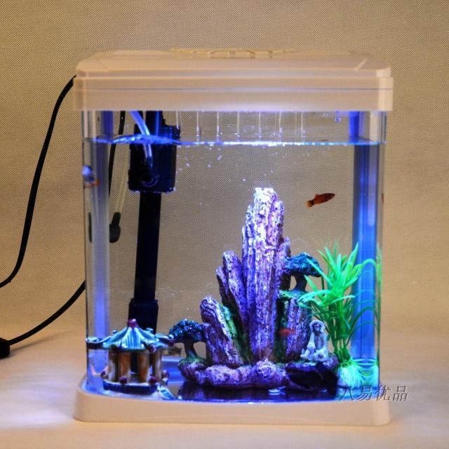 Mini Desk Aquarium Fish Tank Tropical Fish Aquarium