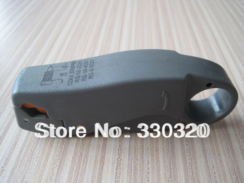 Rotary Coax Coaxial Cable Cutter Tool RG58 RG59 RG6 Stripper Wire Stripper LS-322(China (Mainland))