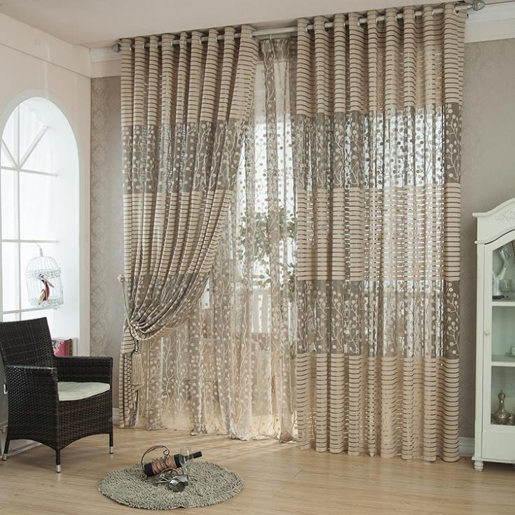 2014 Fine knits voile curtain window screen breathable