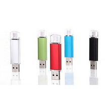 Hot selling metal flash memory usb flash drive pen drive 4gb 8gb 16gb 32gb 64gb memory stick dual usb 2.0 u disk pendrive usb