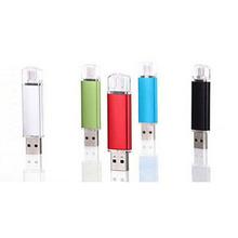 Hot-selling metal flash memory usb flash drive pen drive 4gb 8gb 16gb 32gb 64gb memory stick dual usb 2.0 u disk pendrive