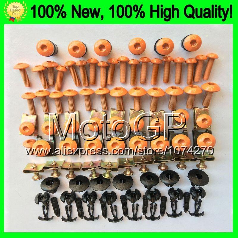 Fairing bolts full screw kit For KAWASAKI NINJA Z1000 10-15 Z 1000 SX Z-1000 Z1000SX 10 11 12 13 14 15 9E184 Nuts bolt screws(China (Mainland))