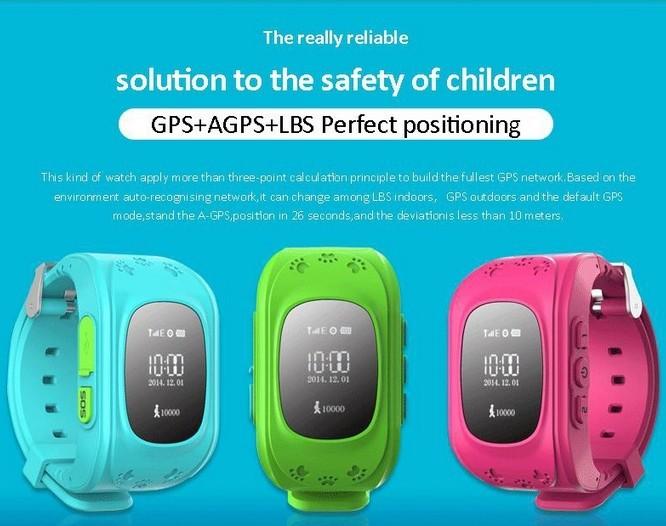 ถูก ความปลอดภัยเด็กเด็กเด็กจีพีเอสสมาร์ทป้องกันการสูญเสียนาฬิกาWistwatch SOSสถานที่ตั้งFinder L Ocatorติดตามตรวจสอบสร้อยข้อมือของขวัญ
