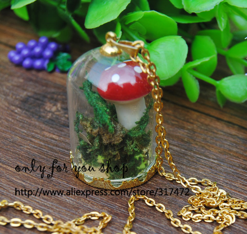 Здесь можно купить  Free ship!! 50sets/lot gold color 38*25mm glass dome globe & crown base & cap  chain set glass vial pendant glass cover Free ship!! 50sets/lot gold color 38*25mm glass dome globe & crown base & cap  chain set glass vial pendant glass cover Ювелирные изделия и часы