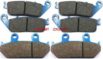 Motorcycle Semi Met Disc Brake Pads Set fit SUZUKI AN650 AN 650 A Burgman Executive 2004 - 2012
