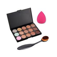 Professional Concealer Palette 15 Color Concealer Facial Face Cream Care Camouflage Makeup base Palettes Cosmetic 20026