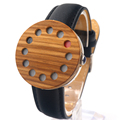 Bobobird Cool 12 holes Design Wood Watches Mens Watches Top Brand Luxury Women Watch With Real