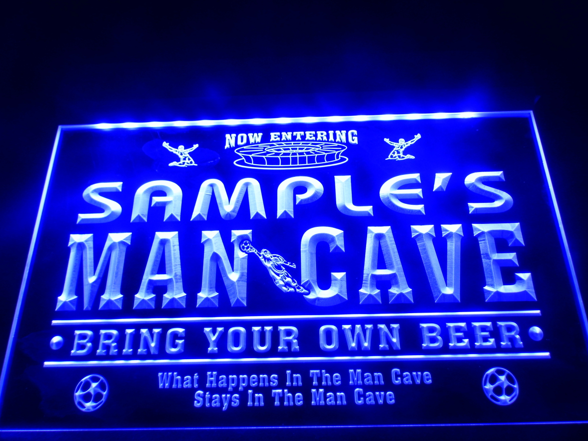 Man Cave Signs Cheap : Popular soccer neon signs buy cheap lots