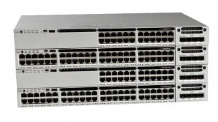 NEW 100% CISCO WS-C3850-24P-S 24 10/100/1000 Ethernet PoE+ ports, with 715WAC power supply 1 RU, IP Base feature set(Hong Kong)