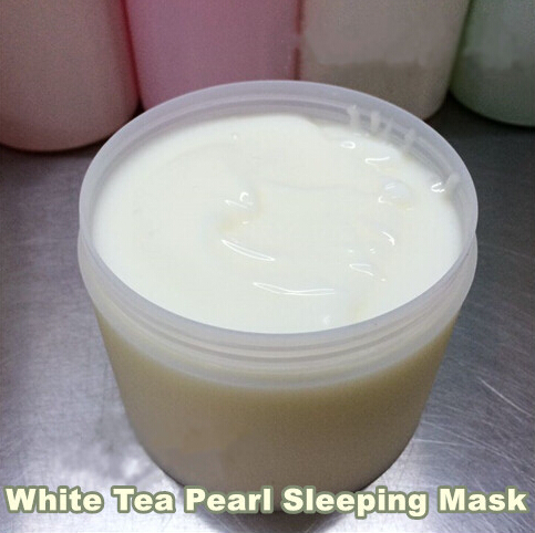 500g White Tea Pearl Sleeping Facial Mask Moisturzing Whitening Brighten Tone Age Spots Beauty Salon Equipment(China (Mainland))