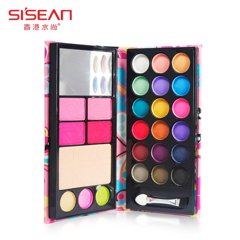 SISEAN four one make-up box 26 Color Eyeshadow blush makeup tool disc genuine
