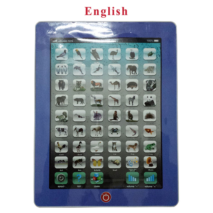 Learn English Language 3 Years Baby Kids Educational Learning Toys Children Computer Tablet Learning Machine Toy Pad Y Pad Ipad(China (Mainland))