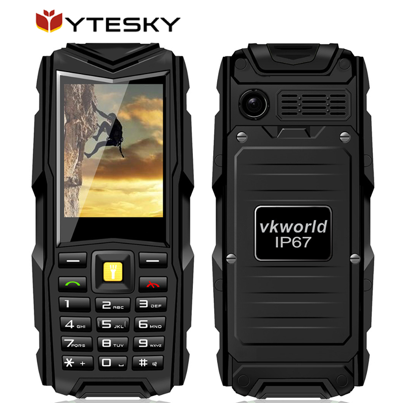 Original VKworld Stone V3 IP67 Waterproof Shockproof Dustproof Mobile Phone Power Bank Long Standby Outdoor Army 5200mAh(China (Mainland))