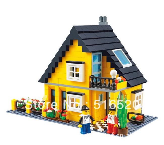 Buy Wange Creation Villa Building Block
