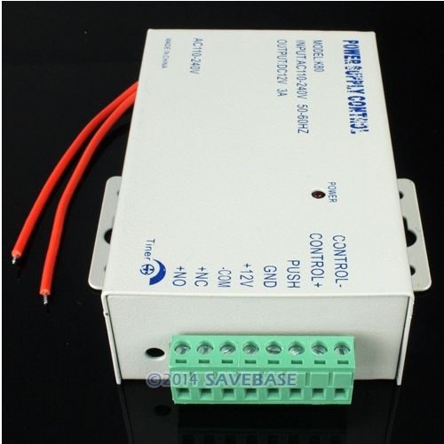 HOMSECUR Door Access Control Use DC 12V 3A /AC 110~240V Special Power Supply Brand NEW(China (Mainland))