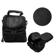 Buy Small Nylon Waterproof Camera Shoulder Bag Case Handbag Nikon Canon SLR DSLR for $7.18 in AliExpress store