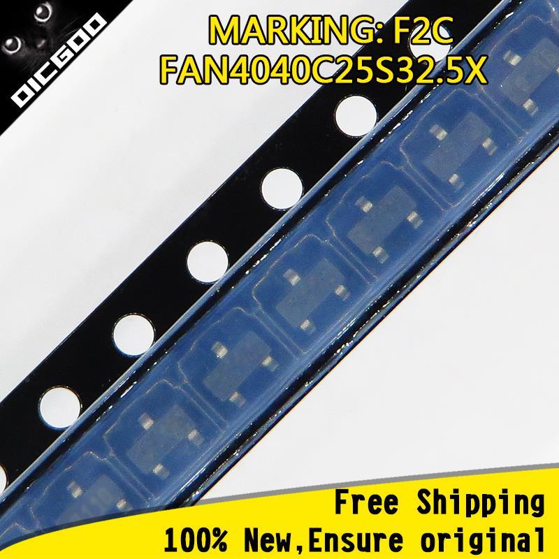 product Free Shipping 10pcs/lot FAN4040C25S32.5X Marking Code F2C SOT23-3 Ensure original