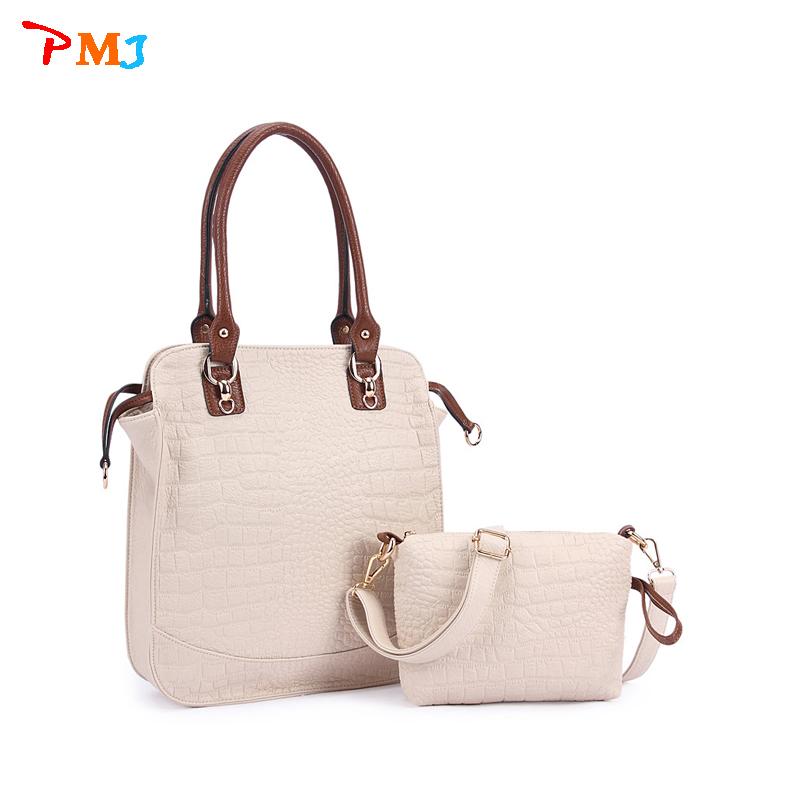 2015 women's handbags made of genuine crocodile skin bag Crossbody bag brand fashion women handbag postman shoulder bag Bolsas(China (Mainland))