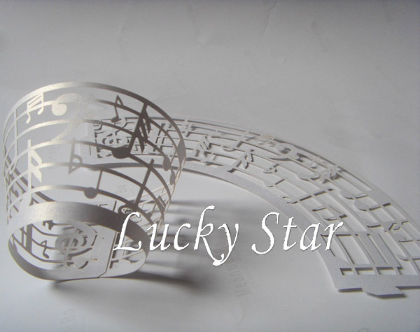 wholesale free shipping 60 pcs/lot White Musical Note laser cut lace Cupcake wrapper kitchen accessories cake decorating tools