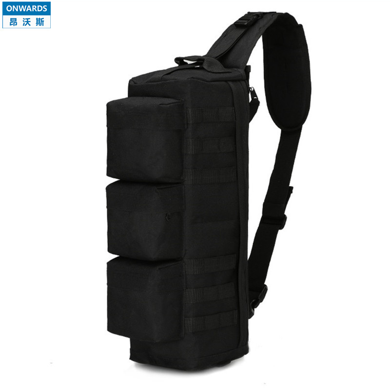 ONWARDS Outdoor Tactical Single-shoulder Black Shoulder Bags Packs Military Mens Molle Messenger Bags Sport Waterproof Bolsas(China (Mainland))