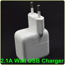 Free shipping 10W 2.1A USB Wall Charger EU plug for Apple iPad mini/2/3/4/AIR For Samsung Andorid Tablet Charger(China (Mainland))