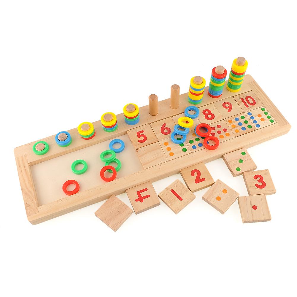 Артикул: д-562 развивающая игрушка пирамидка паренек, 6 деталей, цвет желтый