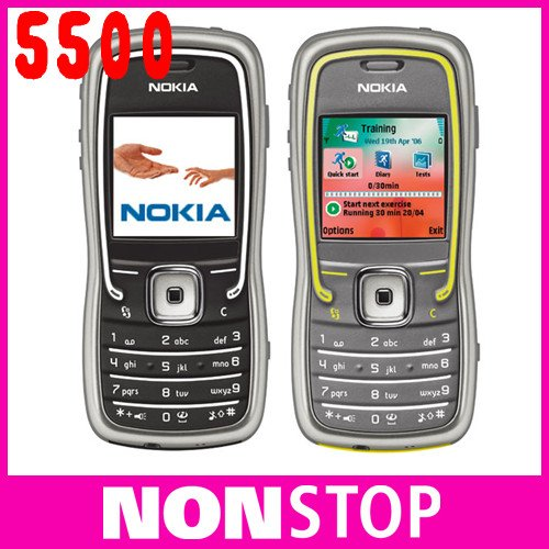 Original Nokia 5500 Sport Unlocked Cell Phone Wholesale In Stock(China (Mainland))