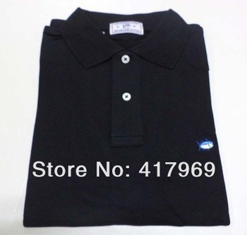 ONLY WHITE !!!  mens brand new trun-over collar short sleeve polo custom embroidery polo shirt