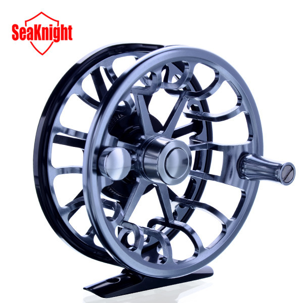 SeaKnight New Top Quality Maxway Elite 3BB 146g 7003-T6 Aluminum Full Metal 5/6 # Fly Fishing Reel Fish Wheel Fly Reel With Bag(China (Mainland))