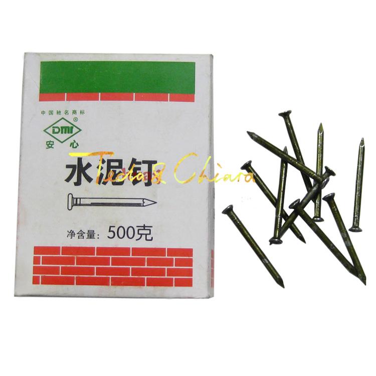 High-strength concrete nails 500g hard snag 3.8*60mm Free shipping High Quality(China (Mainland))