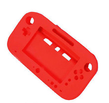 RED Ultra Soft Silicone Protector Gel Full Body Case Cover Skin Shell for Nintendo Wii U Gamepad Controller