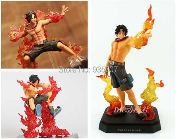 2014 new 4 style One piece onepiece Portgas D Ace action figure original box toys figuarts PVC dolls decoration free shipping(China (Mainland))
