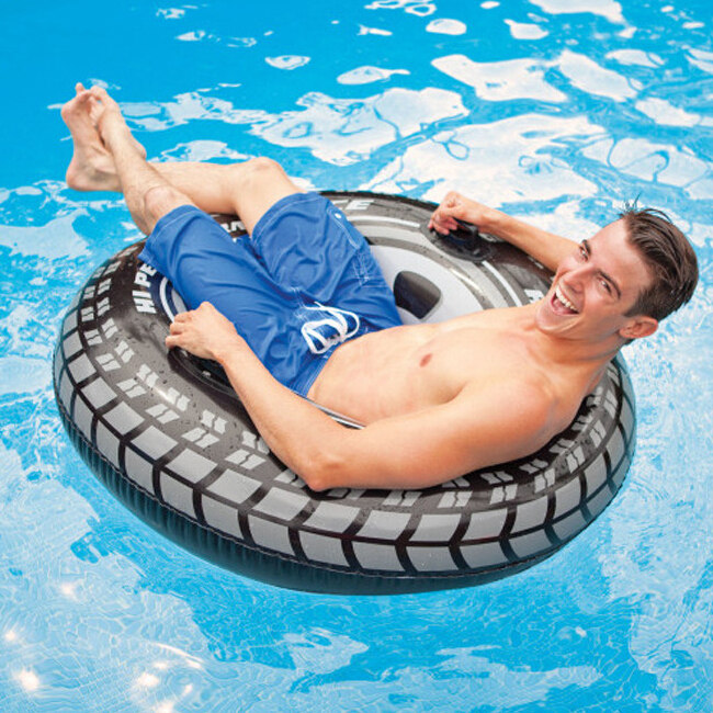 High quality summer style safe big Swimming Rings for men float playing pool float outdoor inflatable swimming lap(China (Mainland))