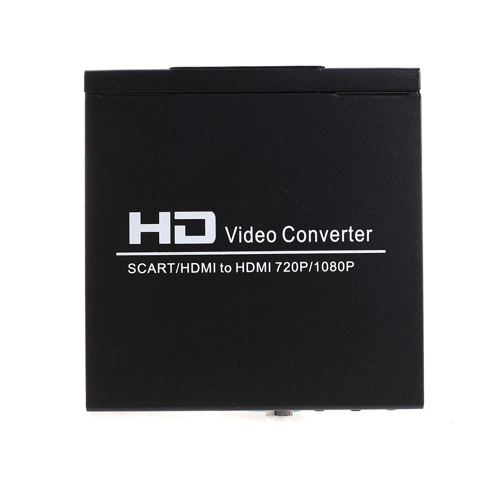 Hot-selling SCART HDMI to HDMI Converter Full HD 1080P Digital High Definition Video Converter Adapter for HDTV HD Projector(China (Mainland))