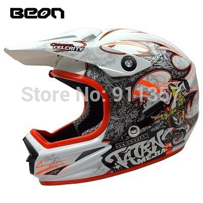 2014 mens motos BEON downhill motorcycle helmet off road casco motocross helmet ,ECE approved capacete motorcycle helmets(China (Mainland))
