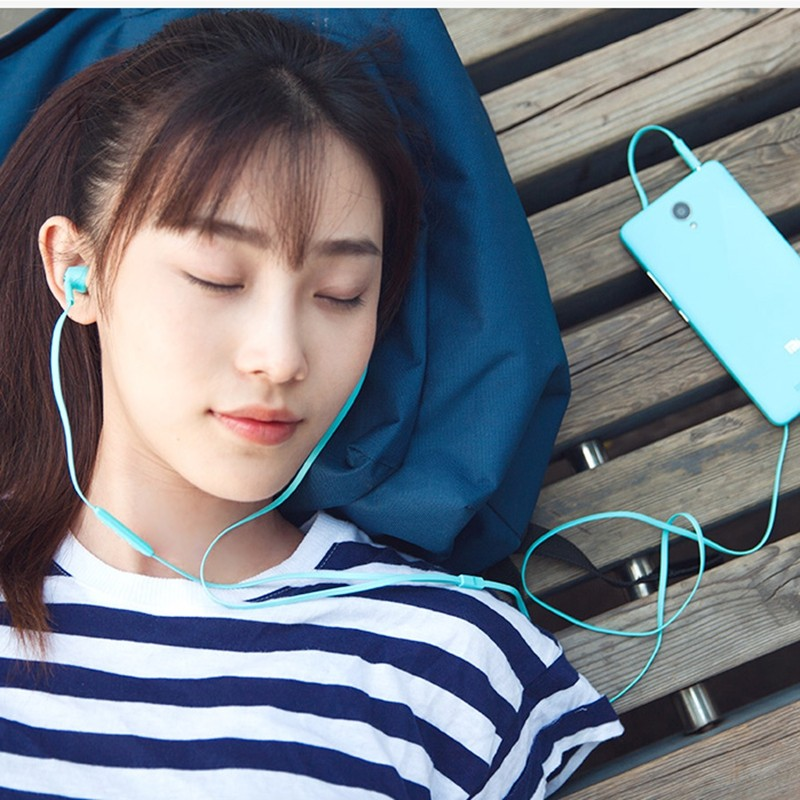 Original For Xiaomi Piston Colorful Version In-Ear Earphone With Mic Volume Control Earphones For Xiaomi For Huawei For LG