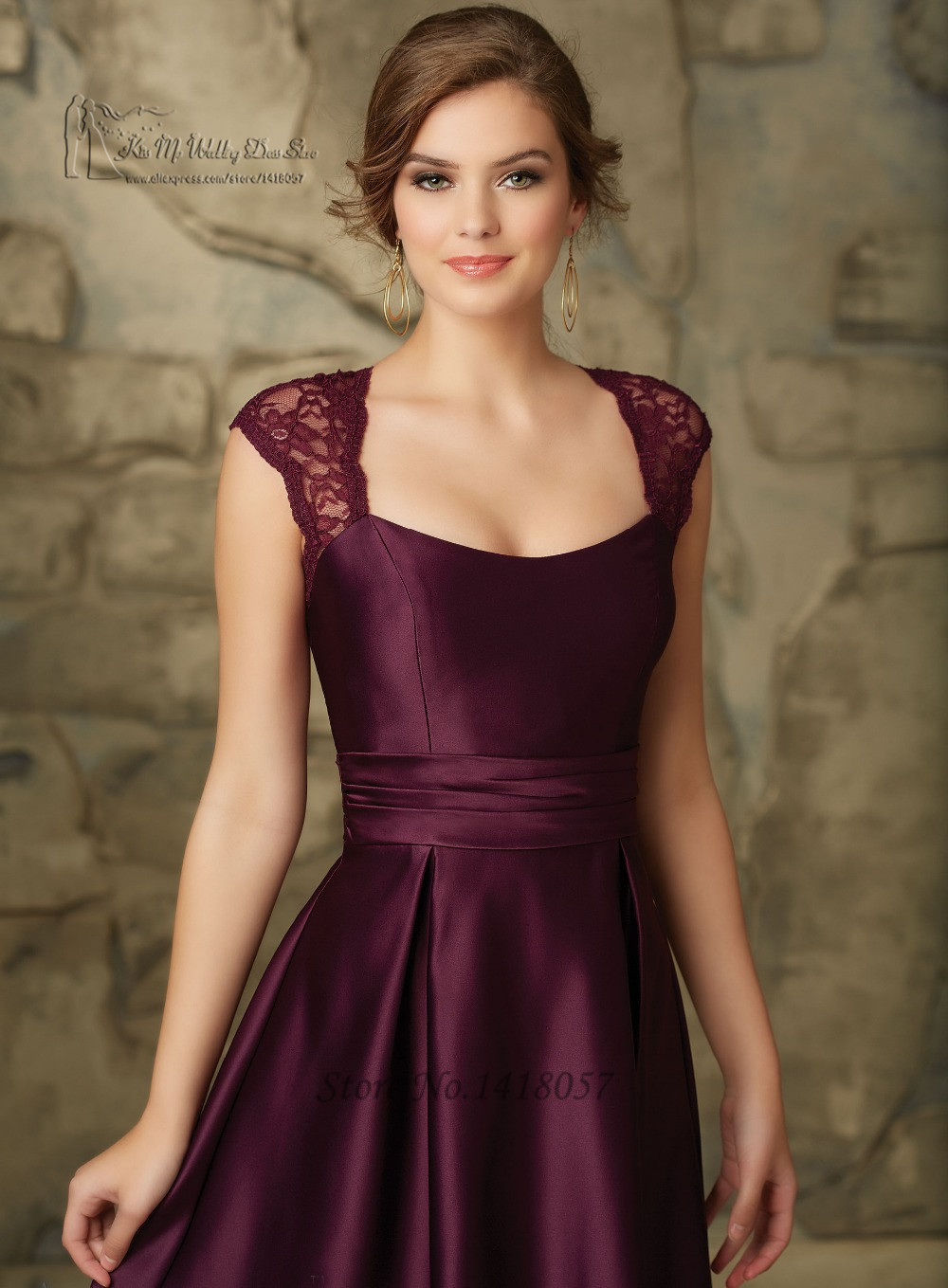 Cheap burgundy bridesmaid dresses picture more detailed for Wedding party dresses cheap
