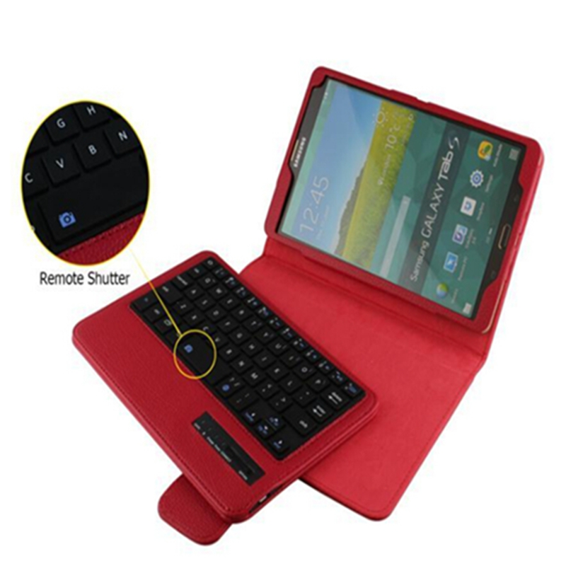 High Quality Tab s 8.4 Bluetooh Keyboard Case For Samsung Galaxy Tab S 8.4 inch T705 T700 Keyboard Stand pu Leather Case(China (Mainland))
