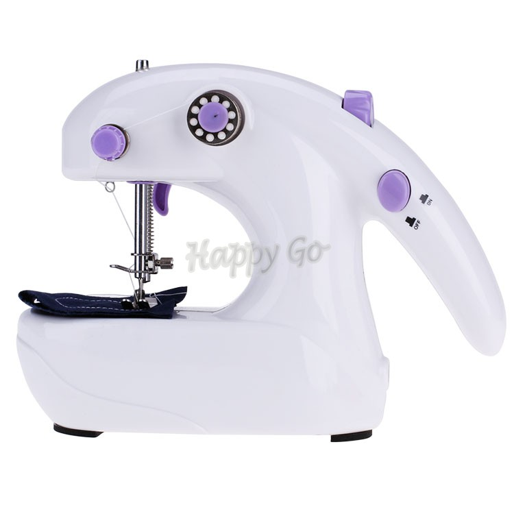 New Mini Portable Electric Easy Operate Battery Clothes Fabric Desktop Handheld Sewing Machine Sartorius Free Shipping 22(China (Mainland))