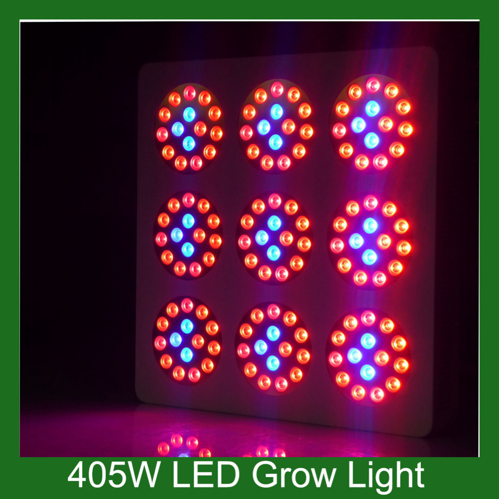 Free Shipping Energy Saving Apollo Led 405w White Color 3 years Warranty Apollo 9 Grow Led Light Best for Greenhouse Agriculture(China (Mainland))