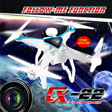 Original Cheerson CX22 CX-22 Follow Me Function 5.8G FPV Dual GPS RC Quadcopter With 1080P Camera RTF 2.4GHz